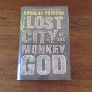 """SIGNED """"The Lost City Of The Monkey God"""""""